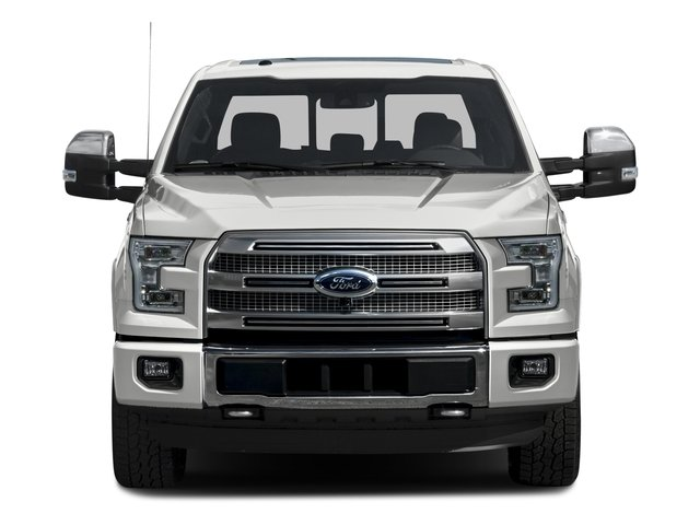 2016 Ford F-150 Prices and Values Crew Cab Platinum 4WD front view
