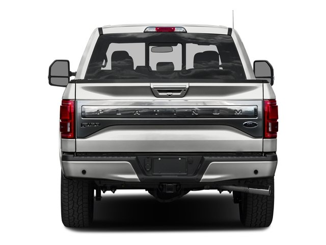 2016 Ford F-150 Prices and Values Crew Cab Platinum 4WD rear view