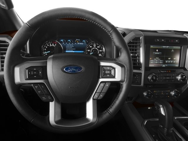 2016 Ford F-150 Prices and Values Crew Cab Platinum 4WD driver's dashboard