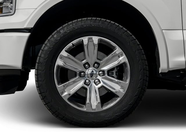 2016 Ford F-150 Prices and Values Crew Cab Platinum 4WD wheel