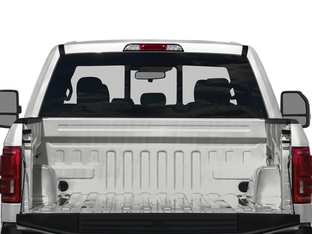2016 Ford F-150 Prices and Values Crew Cab Platinum 4WD open trunk