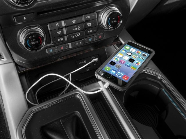 2016 Ford F-150 Prices and Values Crew Cab Platinum 4WD iPhone Interface