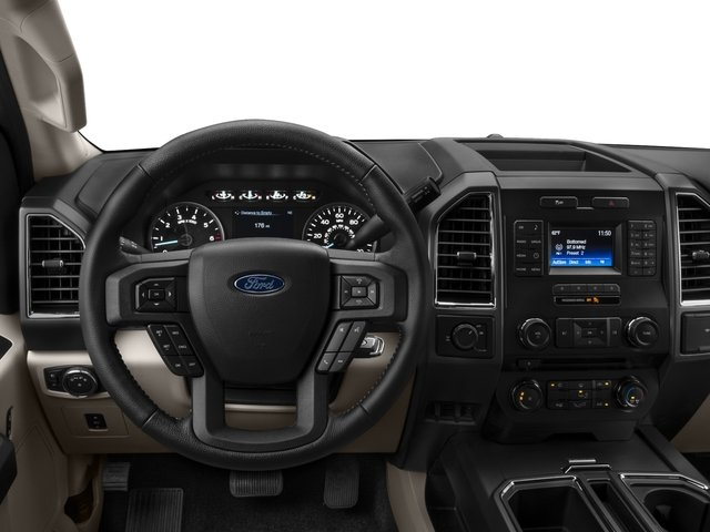 2016 Ford F-150 Prices and Values Supercab XLT 2WD driver's dashboard