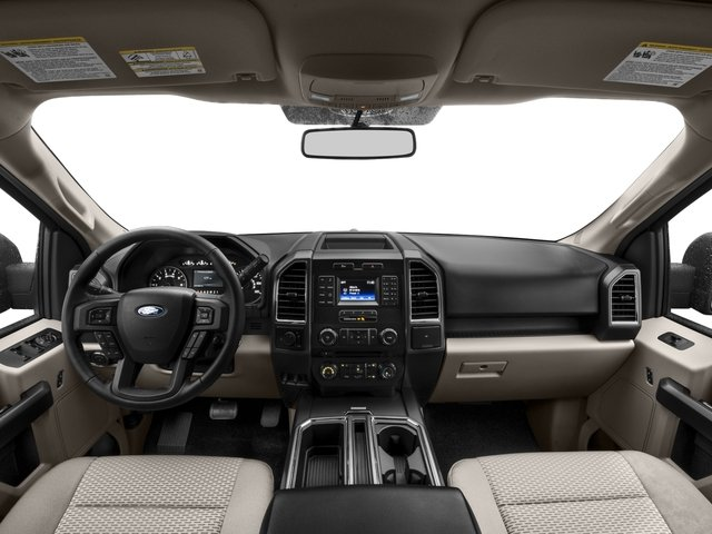 2016 Ford F-150 Prices and Values Supercab XLT 2WD full dashboard