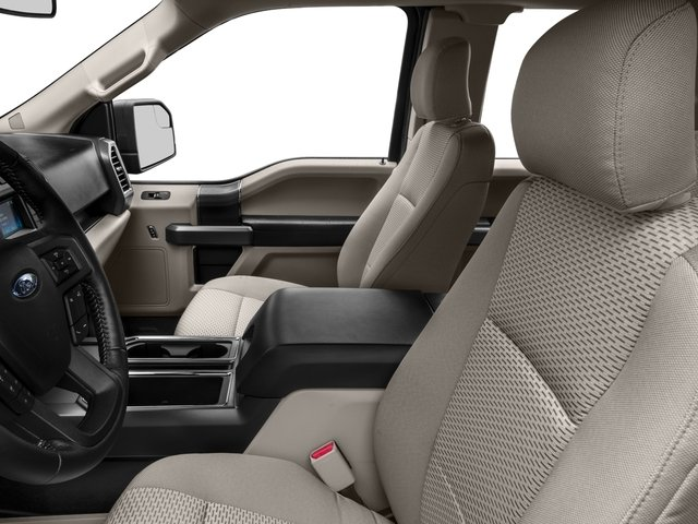 2016 Ford F-150 Prices and Values Supercab XLT 2WD front seat interior