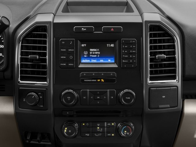 2016 Ford F-150 Prices and Values Supercab XLT 2WD stereo system