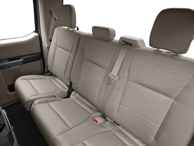 2016 Ford F-150 Prices and Values Supercab XLT 2WD backseat interior