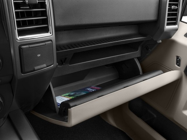 2016 Ford F-150 Prices and Values Supercab XLT 2WD glove box