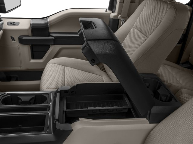 2016 Ford F-150 Prices and Values Supercab XLT 2WD center storage console