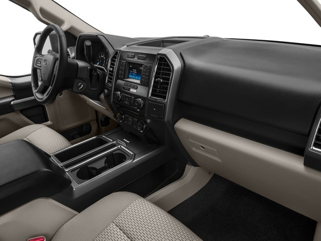 2016 Ford F-150 Prices and Values Supercab XLT 2WD passenger's dashboard