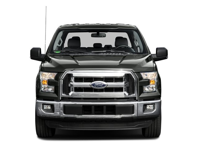 2016 Ford F-150 Pictures F-150 Crew Cab XLT 2WD photos front view