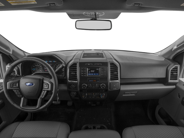 2016 Ford F-150 Pictures F-150 Regular Cab XLT 2WD photos full dashboard