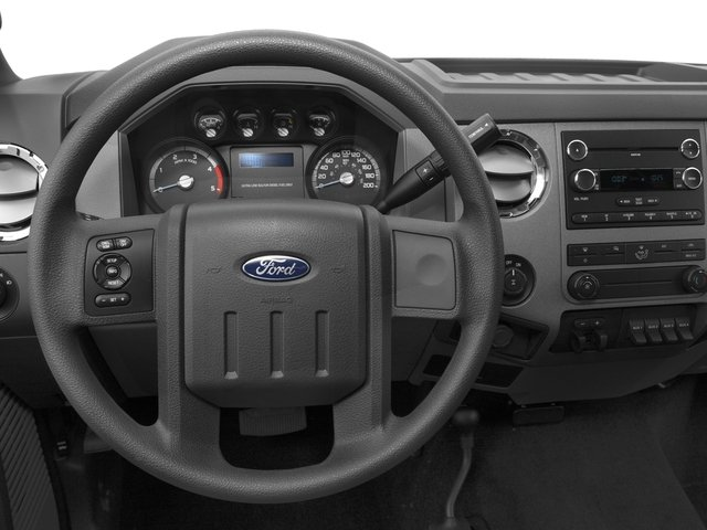 2016 Ford Super Duty F-350 DRW Prices and Values Regular Cab XL 2WD driver's dashboard