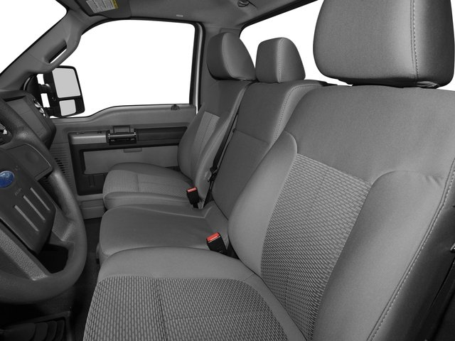 2016 Ford Super Duty F-350 DRW Prices and Values Regular Cab XL 2WD front seat interior