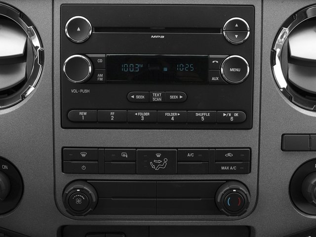 2016 Ford Super Duty F-350 DRW Prices and Values Regular Cab XL 2WD stereo system