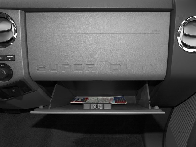 2016 Ford Super Duty F-350 DRW Prices and Values Regular Cab XL 2WD glove box