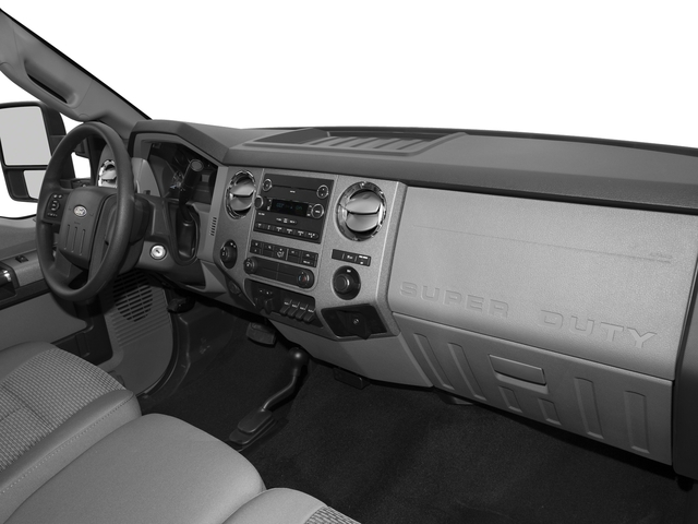 2016 Ford Super Duty F-350 DRW Prices and Values Regular Cab XL 2WD passenger's dashboard