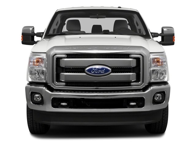 2016 Ford Super Duty F-250 SRW Prices and Values Crew Cab Platinum 4WD front view