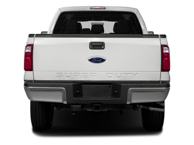 2016 Ford Super Duty F-250 SRW Prices and Values Crew Cab Platinum 4WD rear view