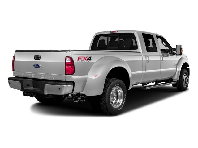 2016 Ford Super Duty F-450 DRW Prices and Values Crew Cab Lariat 4WD T-Diesel side rear view