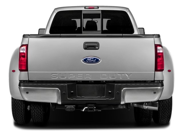 2016 Ford Super Duty F-450 DRW Prices and Values Crew Cab Lariat 4WD T-Diesel rear view