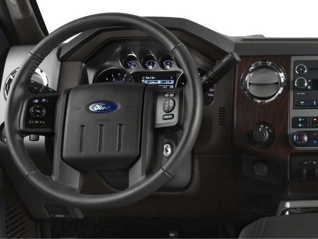 2016 Ford Super Duty F-450 DRW Prices and Values Crew Cab Lariat 4WD T-Diesel driver's dashboard