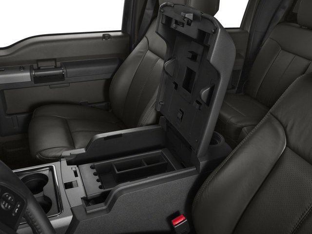 2016 Ford Super Duty F-450 DRW Prices and Values Crew Cab Lariat 4WD T-Diesel center storage console