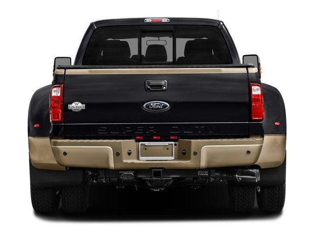 2016 Ford Super Duty F-350 DRW Prices and Values Crew Cab King Ranch 4WD rear view