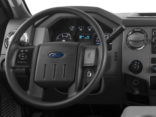 2016 Ford Super Duty F-350 DRW Prices and Values Supercab XL 2WD driver's dashboard