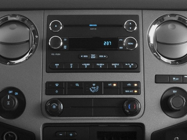 2016 Ford Super Duty F-350 DRW Prices and Values Supercab XL 2WD stereo system