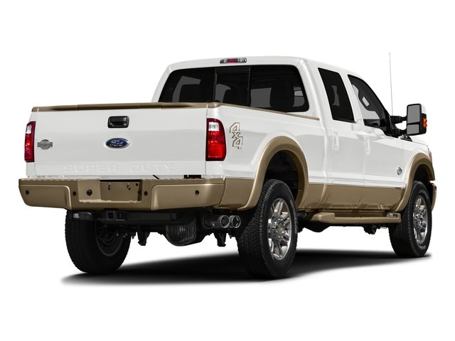 2016 Ford Super Duty F-250 SRW Prices and Values Crew Cab King Ranch 2WD side rear view