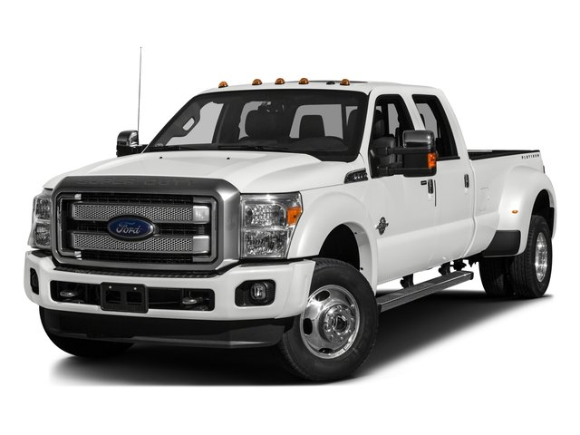 2016 Ford Super Duty F-450 DRW Pictures Super Duty F-450 DRW Crew Cab Platinum 4WD T-Diesel photos side front view