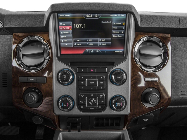 2016 Ford Super Duty F-450 DRW Pictures Super Duty F-450 DRW Crew Cab Platinum 4WD T-Diesel photos stereo system
