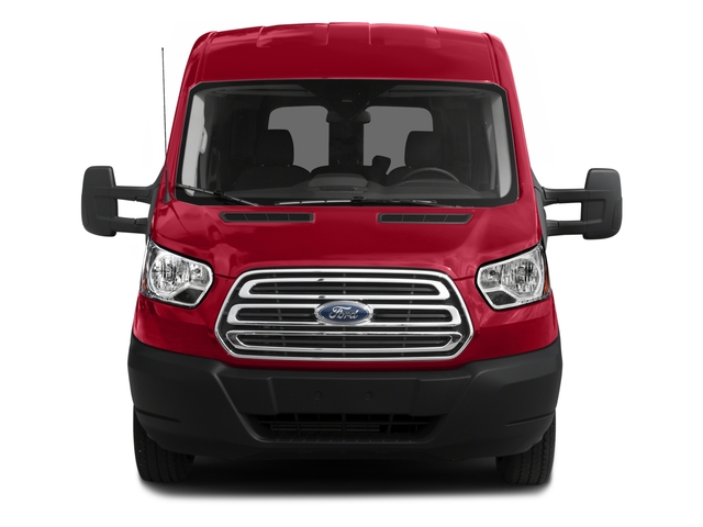 2016 Ford Transit Wagon Prices and Values Passenger Van XLT Medium Roof front view