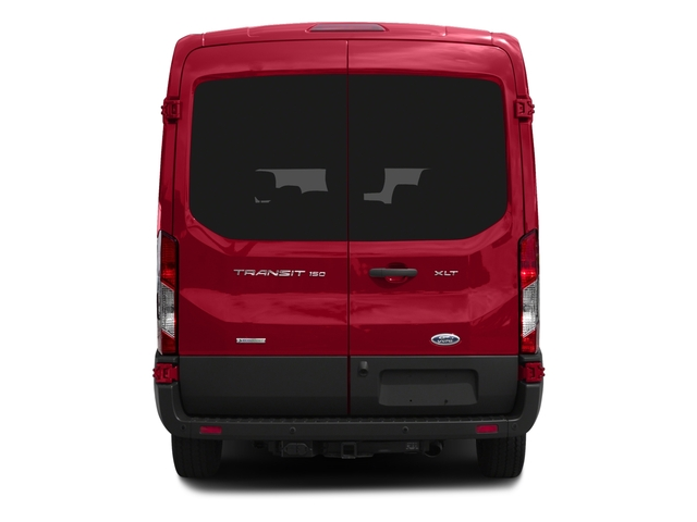 2016 Ford Transit Wagon Prices and Values Passenger Van XLT Medium Roof rear view