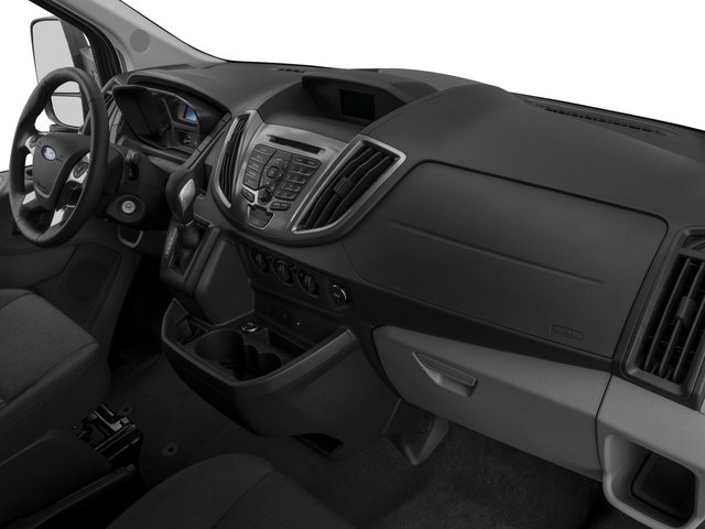 2016 Ford Transit Wagon Prices and Values Passenger Van XLT Medium Roof passenger's dashboard