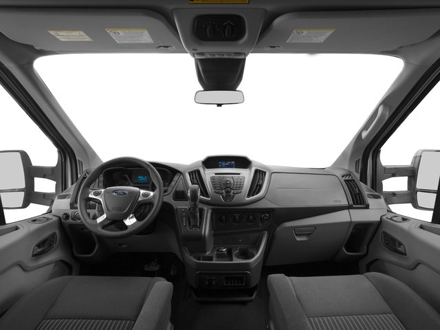 2016 Ford Transit Wagon Prices and Values Passenger Van XLT Medium Roof full dashboard