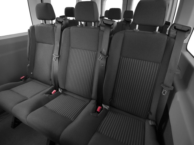 2016 Ford Transit Wagon Prices and Values Passenger Van XLT Medium Roof backseat interior