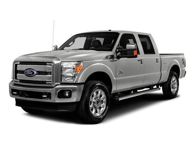 2016 Ford Super Duty F-250 SRW Prices and Values Crew Cab XLT 4WD