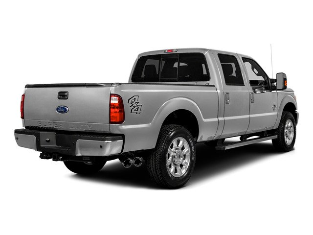 2016 Ford Super Duty F-250 SRW Prices and Values Crew Cab Lariat 4WD side rear view