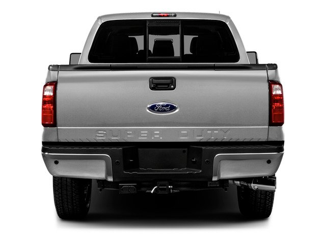 2016 Ford Super Duty F-250 SRW Prices and Values Crew Cab XLT 4WD rear view