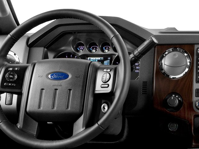 2016 Ford Super Duty F-250 SRW Prices and Values Crew Cab XLT 4WD driver's dashboard
