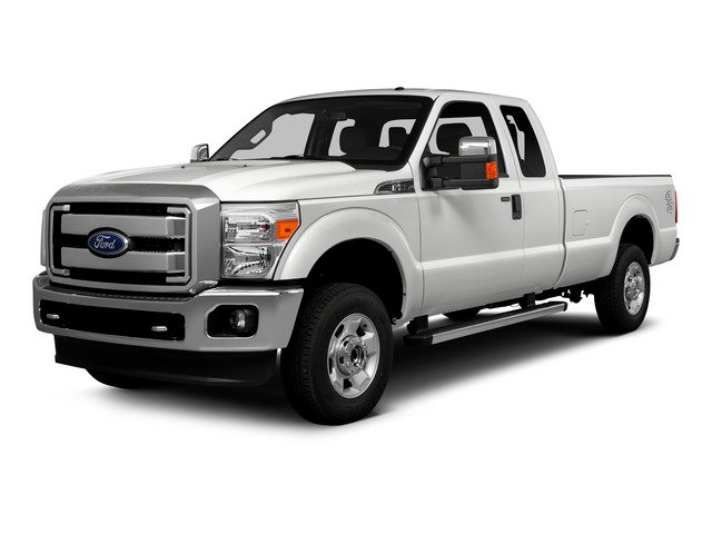 2016 Ford Super Duty F-250 SRW Prices and Values Supercab Lariat 4WD side front view