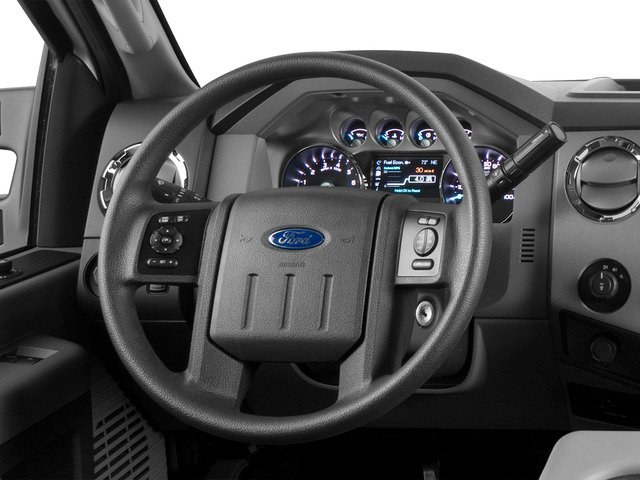2016 Ford Super Duty F-250 SRW Prices and Values Supercab Lariat 4WD driver's dashboard