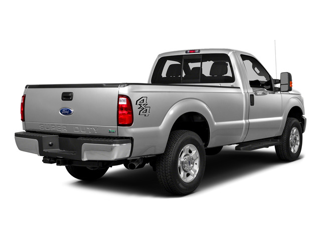 2016 Ford Super Duty F-250 SRW Prices and Values Regular Cab XLT 2WD side rear view