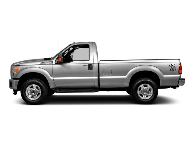 2016 Ford Super Duty F-250 SRW Prices and Values Regular Cab XLT 2WD side view