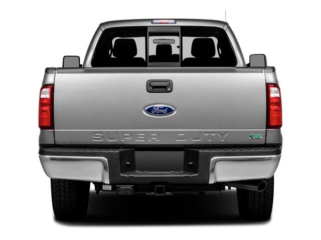 2016 Ford Super Duty F-250 SRW Prices and Values Regular Cab XLT 2WD rear view