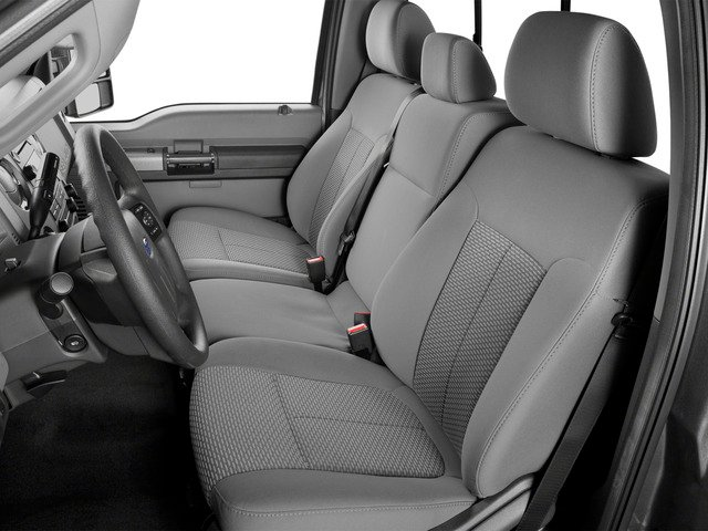 2016 Ford Super Duty F-250 SRW Prices and Values Regular Cab XLT 2WD front seat interior