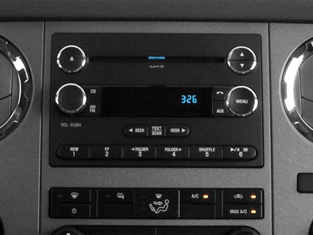 2016 Ford Super Duty F-250 SRW Prices and Values Regular Cab XLT 2WD stereo system