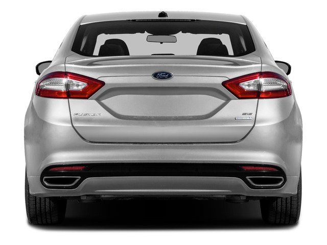 2016 Ford Fusion Prices and Values Sedan 4D SE I4 rear view